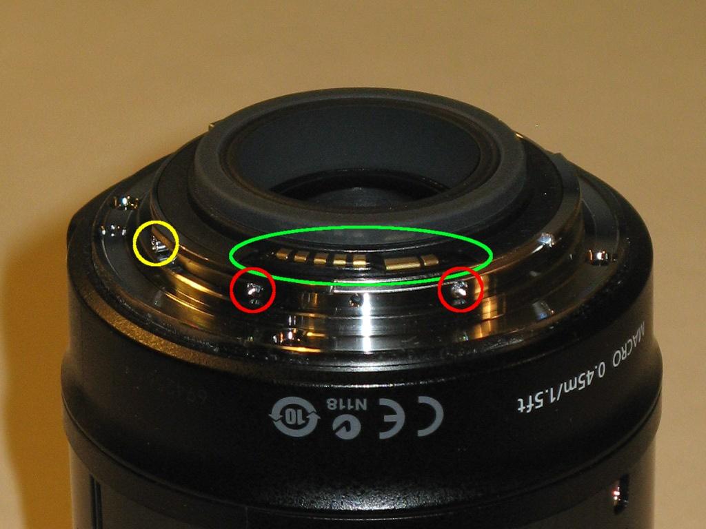 Lens Spcific Focus Ring